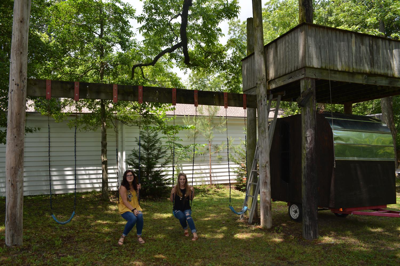 Awesome Backyard Adventures Treehouse