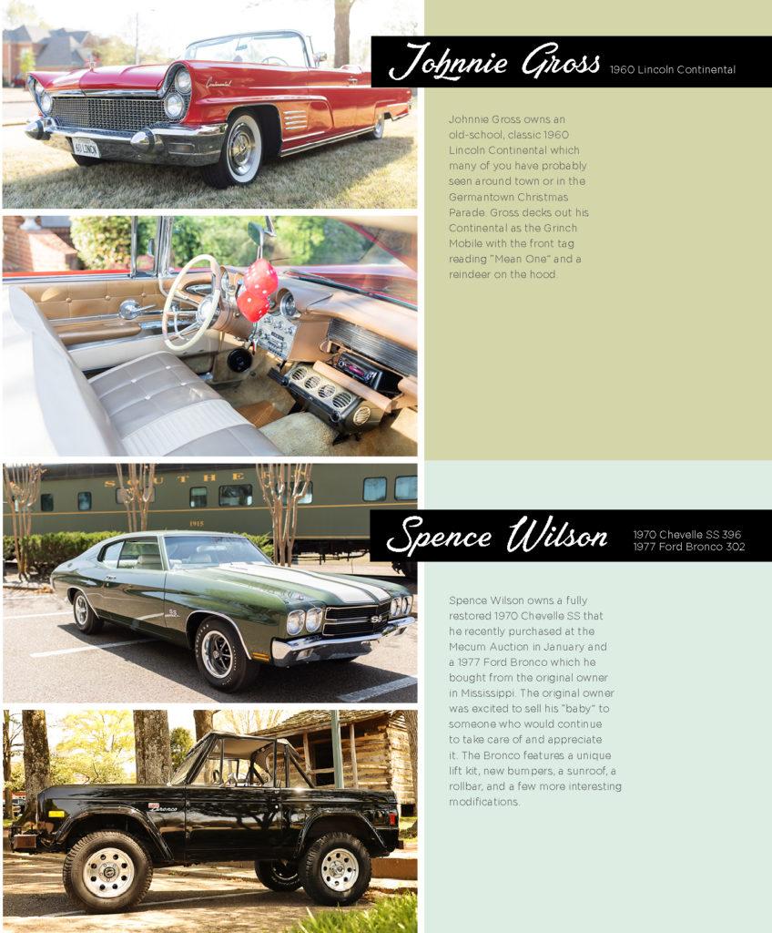 Collierville's Cool Cars – Tour Collierville